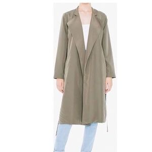 American Apparel Dylan Trench Coat NWOT